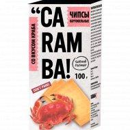 Чипсы картофельные «Caramba» со вкусом краба, 100 г.