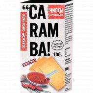 Чипсы картофельные «Caramba» со вкусом соуса чили, 100 г.