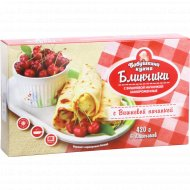 Блинчики «Бабушкина кухня» с вишнёвой начинкой, 420 г.