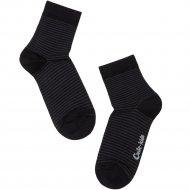 Носки детские «Tip-Tot» черные, размер 20.