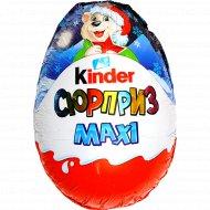 Яйцо шоколадное «Kinder Сюрприз» Зима Maxi, 100 г.
