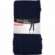 Легинсы женские «Stylan's» LEG-01, синий, размер L-XL