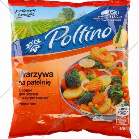 Овощная смесь «Poltino» для жарки «по-деревенски», 450 г