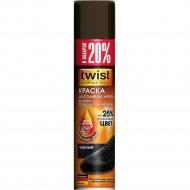 Краска «Twist» Fashion для замши, аэрозоль, черная, 300 мл.