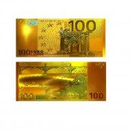Сувенирная банкнота «100€» двухсторонняя.
