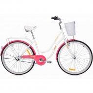 Велосипед «Aist» Avenue 26, бело/розовый