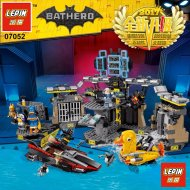 Конструктор «Lepin» нападение на Бэтпещеру, 07052.