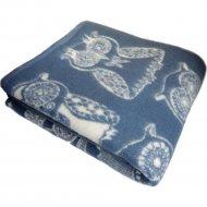Одеяло «Klippan» Дымчатая сова, 140x205 см