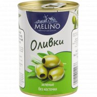 Оливки зеленые «Melino» без косточки, 280 г.