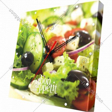 Часы настенные «Салат».