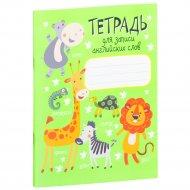 Книга «Тетрадь для записи английских слов» 2-е издание.