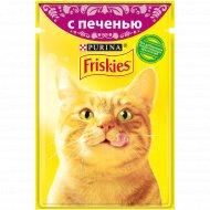 Корм для кошек «Friskies» с печенью в подливе, 85 г.