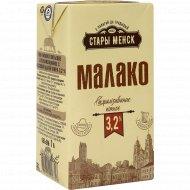 Молоко питьевое «Стары Менск» стерилизованное, 3.2%, 1 л.