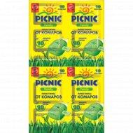 Пластины от комаров «Picnic Familly» 10 шт.