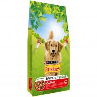 Корм для собак «Friskies» с мясом, 4 кг