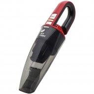 Портативный пылесос «Kitfort» KT-537-2, черный/красный