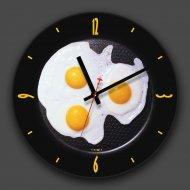Часы настенные «Яичница».