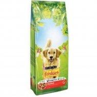 Корм «Friskies» для активных собак, мясо, 10 кг.