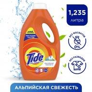 Гель для стирки «Tide» Альпийская свежесть, 1.235 л