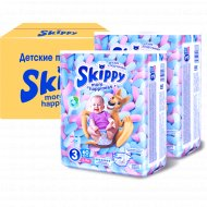 Подгузники «Skippy» More Happiness Plus размер 3, 4-9 кг, 120 шт.