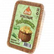 Хрустящие лавашики со вкусом и ароматом «Зеленый лук» 100 г.