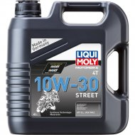 Масло моторное «Liqui Moly» Motorbike, 4T, Street, 10W-30, 1688, 4 л