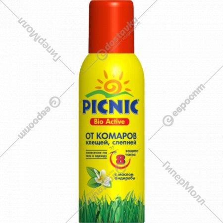 Аэрозоль «Picnic Bio Active» от комаров, 125 см3.