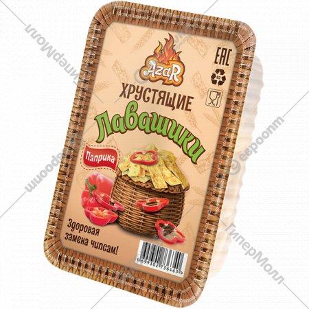 Хрустящие лавашики со вкусом и ароматом «Паприка» 100 г.