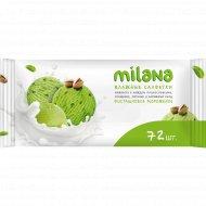 Влажные салфетки «Milana» антибактериальные, 72 шт.