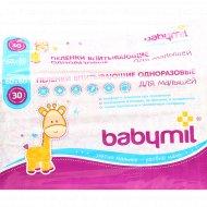 Пеленки впитывающие «Babymil» Оптима 60x60 см, 30 шт.