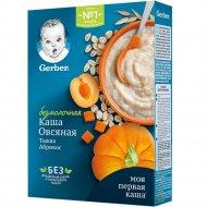 Каша «Gerber» безмолочная овсяная, тыква, абрикос, 180г.