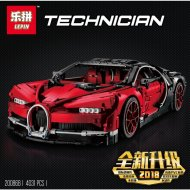 Конструктор «Bugatti Chiron» красный, 20086B.