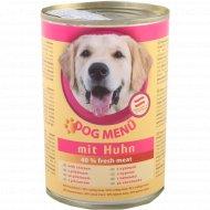 Корм для собак «Dog Menu» с курицей 415 г.