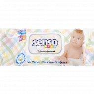 Влажные салфетки «Senso Baby» с клапаном, 120 шт