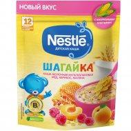 Каша мультизлаковая «Nestle» мед, абрикос, малина, 190г.