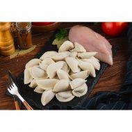 Пельмени из курицы «Смачныя» весовые, фасовка, 1 кг., фасовка 1-1.1 кг