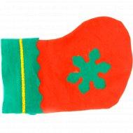 Декоративное украшение «Новогодний носок».