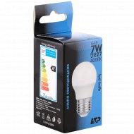 Светодиодная лампа G45, 7W, Е27.