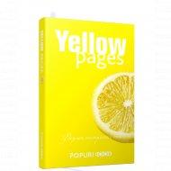 Блокнот «Yellow pages».