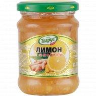 Ягода протертая с сахаром «Тогрус» лимон с имбирём, 300 г