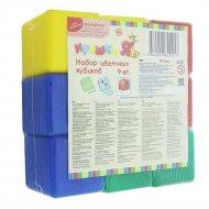 Набор цветных кубиков, 9 шт.