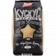 Кус-кус «Bravolli!» из твердых сортов пшеницы, 450 г.