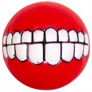 Игрушка «Мяч с зубами с пищалкой» 7,5 см.