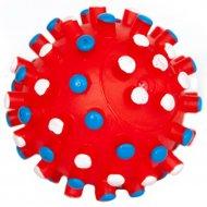 Игрушка «Мяч шипованный с пищалкой» средний, 8.5 см.