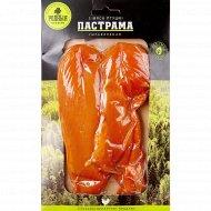 Продукт из мяса птицы сыровяленый «Пастрама» охлажденный, 1кг., фасовка 0.2-0.35 кг
