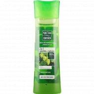 Шампунь для волос «Чистая линия» 2 в 1, хмель и репейное масло 400 мл