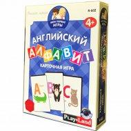 Настольная игра «Английский алфавит».