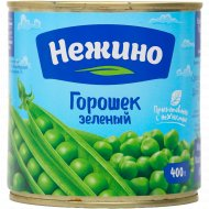 Горошек зеленый «Нежино» 400 г.