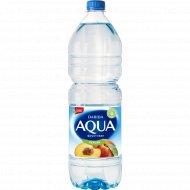 Напиток негазированный «Аква фруктовая» с ароматом персика, 1.5 л.