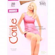 Колготки женские «Conte» Nuance, 20 den, размер 4, natural